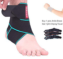 Ankle-Support,Adjustable-Ankle-Brace-Breathable-Nylon-Material-Super-Elastic-and-Comfortable