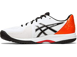 Asics Womens Gel-Court Speed Tennis Shoes White Breathable Lightweight Trainers