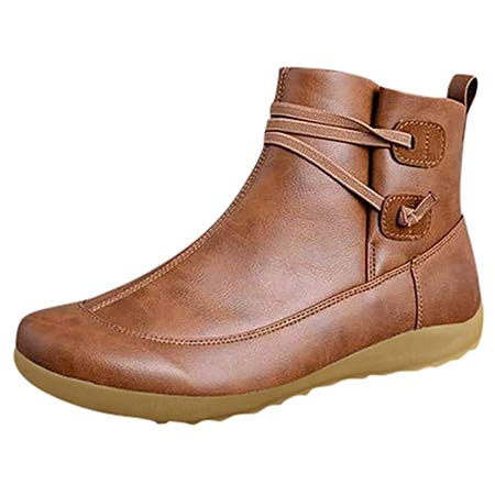 LowProfile Winter Arch Support Boots Ankle Booties Damping Shoes left pic