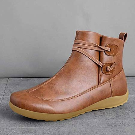 LowProfile Winter Arch Support Boots Ankle Booties Damping Shoes left side