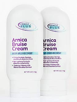 Miracle Plus Arnica Bruise Cream for bruising