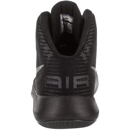 Nike Men Air Precision High Top Basketball Shoe Back Side Pic