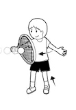 Badminton backhand 3