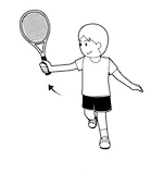 Badminton backhand 4
